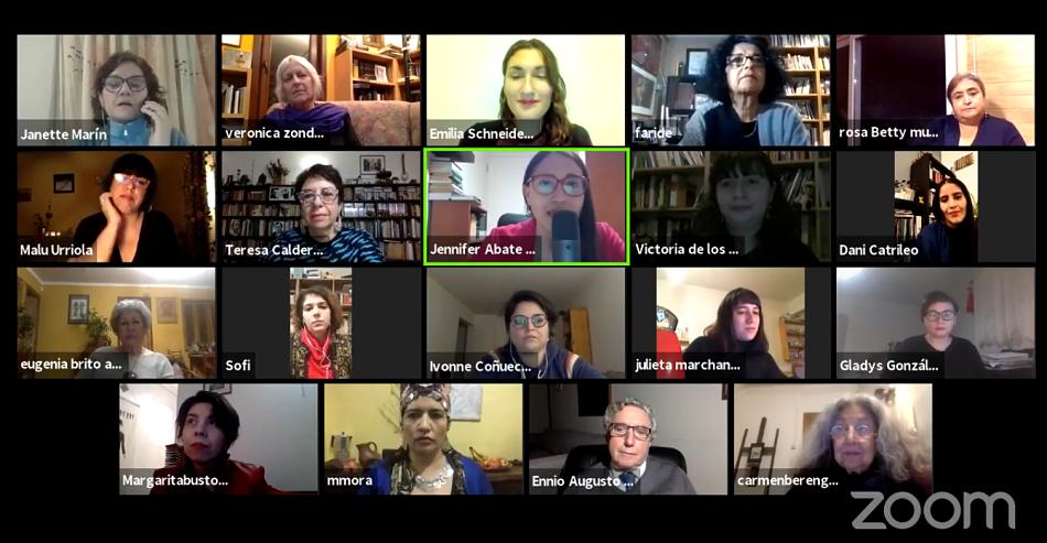 """Poetas chilenas se reunieron en recital """"Resistencia poética contra la muerte"""""""