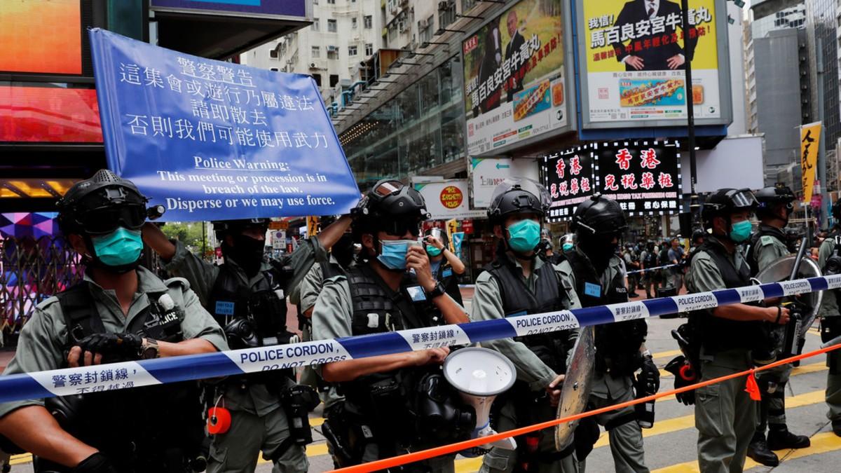 Hong Kong suspenderá acuerdos de extradición con Australia, Canadá y el Reino Unido