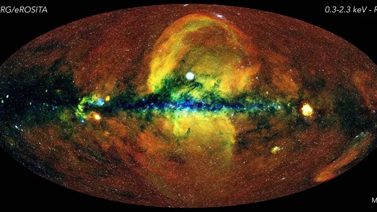 (Foto) Recrean el mapa del cielo: el más completo jamás hecho
