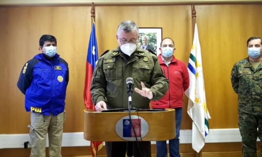 Los Ríos: autoridades expusieron funcionamiento de nuevos cordones sanitarios