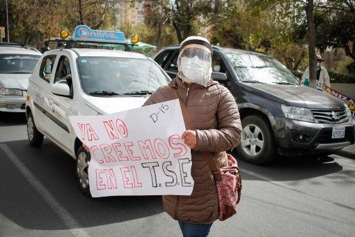 protesta Bolivia