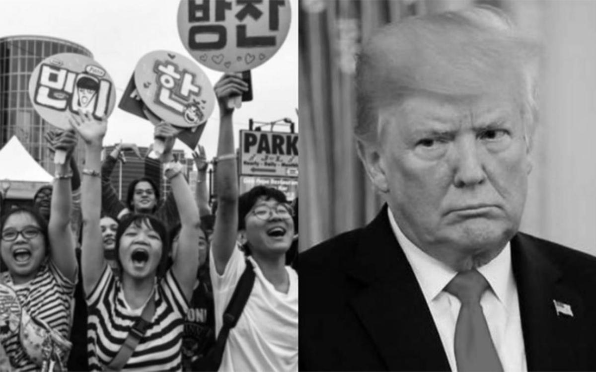 ¿Trollado por adolescentes? K-pop invade política e declara guerra a Trump