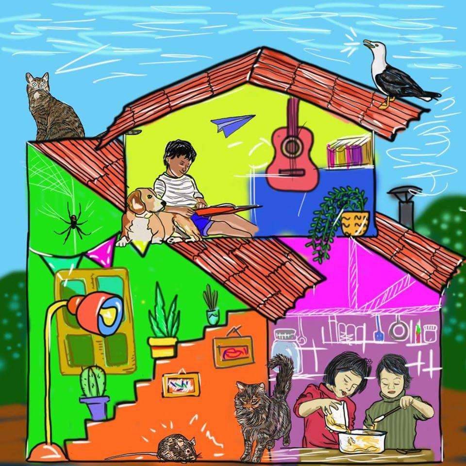 Fideos con Salsa TV: Una alternativa comunitaria para las infancias y toda la familia en cuarentena
