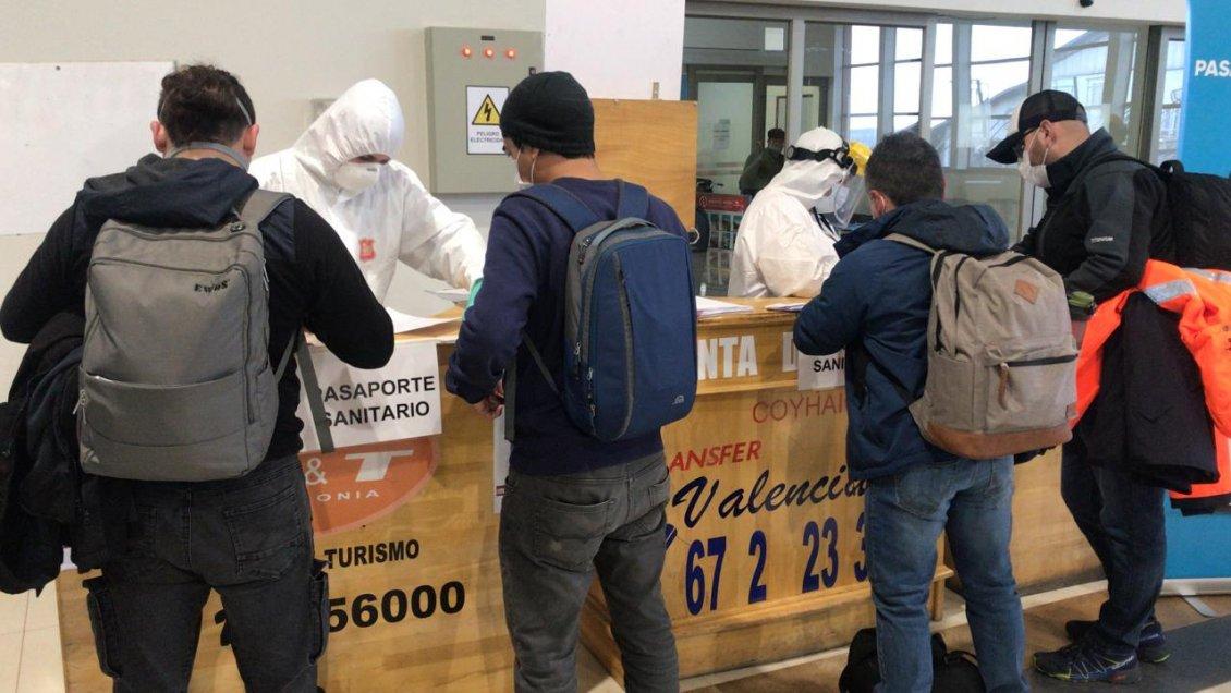Aysén: 15 personas fueron devueltas en Cordón Sanitario