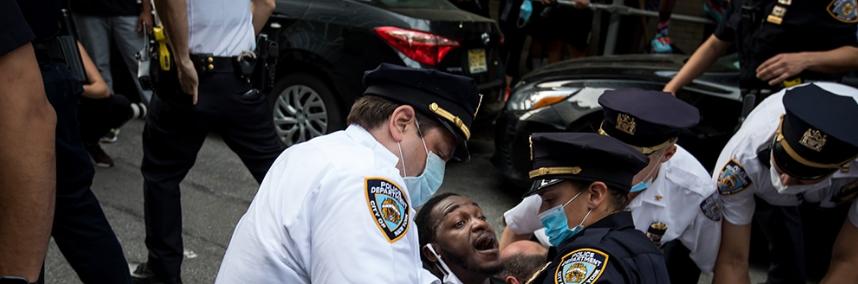 ONU alerta sobre el  uso desproporcionado de la fuerza contra manifestantes en EE.UU.
