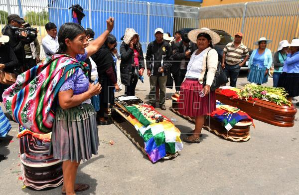 Indígenas se convierten en el principal blanco de la ineficaz política del Gobierno de facto de Bolivia ante la pandemia