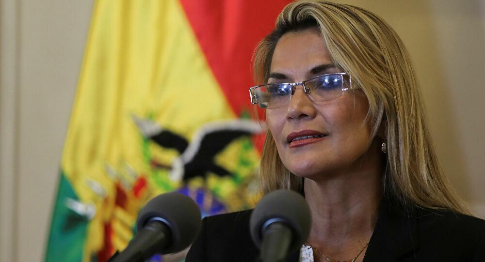 presidenta de facto de bolivia