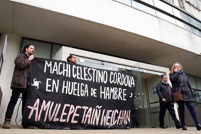 Presentan recurso en favor del Machi Celestino Córdova: Piden cambiar prisión por arresto domiciliario durante un periodo de 6 meses