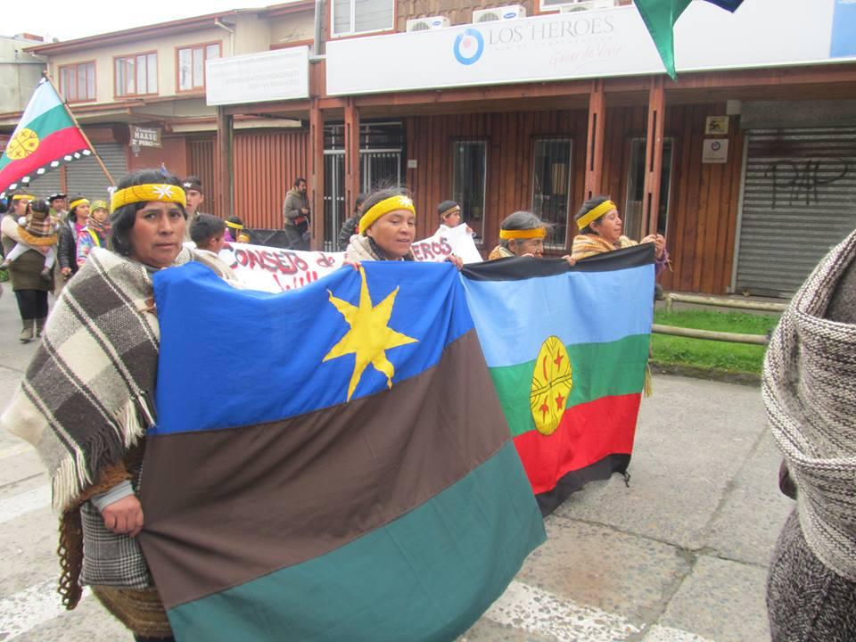 Comunidades Mapuche-Williche se manifiestan en contra del «nuevo Pueblo Originario de los Williche en Chiloé»