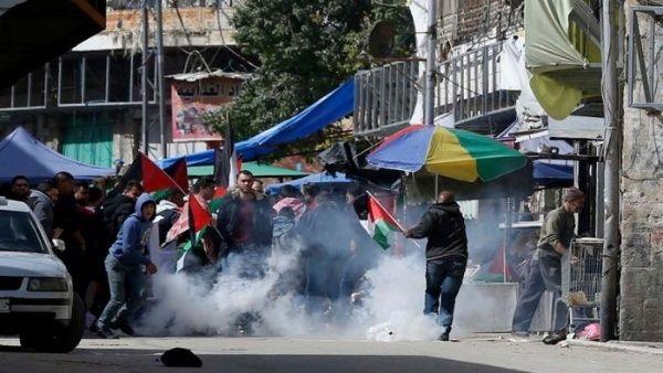represión palestinos