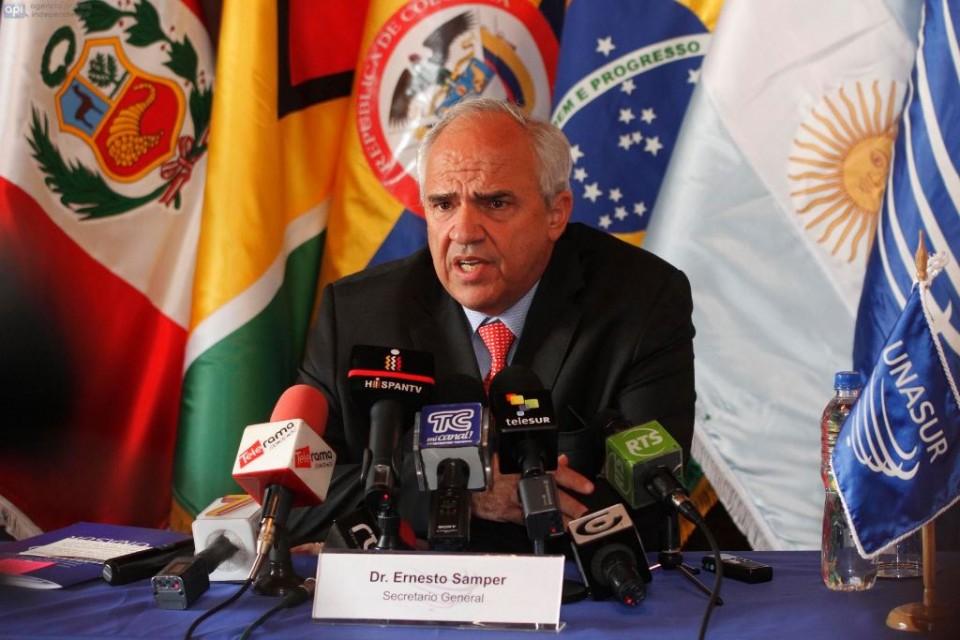 """Ernesto Samper, ex Presidente de Colombia y Unasur: """"Prosur está al servicio de los intereses norteamericanos"""""""