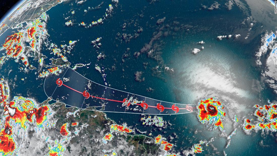 Tormenta tropical Gonzalo se forma en el Atlántico y prevén que se convierta en huracán
