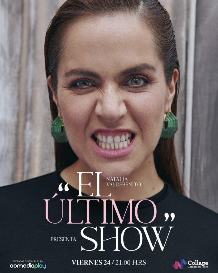 """Natalia Valdebenito estrenará """"El Último Show"""" vía streaming"""