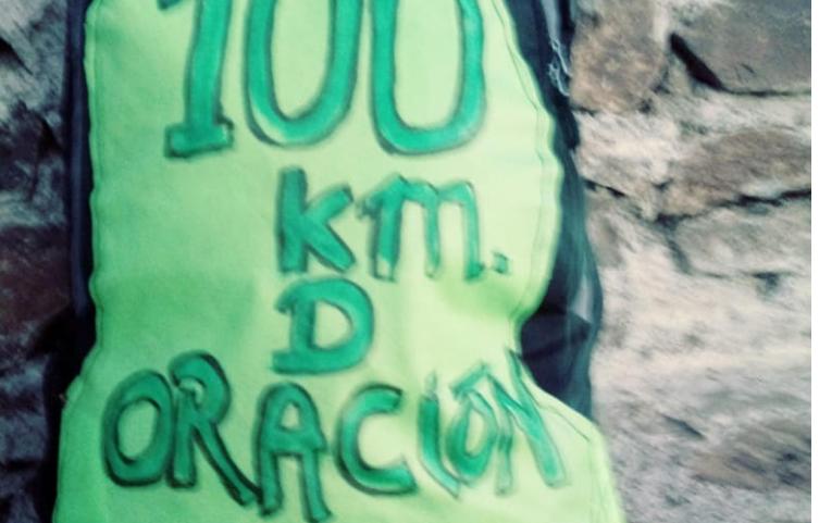 """Párroco de la Iglesia de Alto del Carmen inició caminata """"100 km de Oración por la Vida del Valle del Huasco"""""""