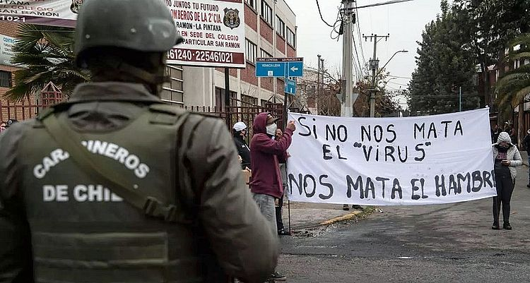 Economía chilena se desplomó 14,1% en el segundo trimestre, la mayor contracción desde la crisis de 1982