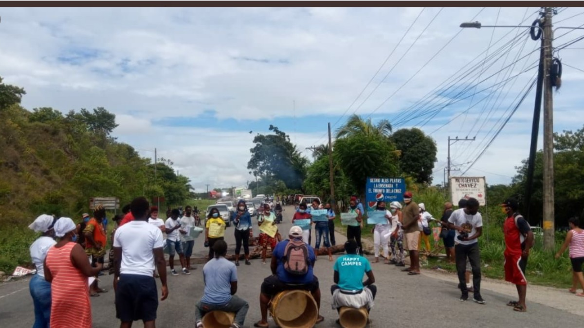 Honduras: Pueblo garífuna hace plantón por jóvenes desaparecidos