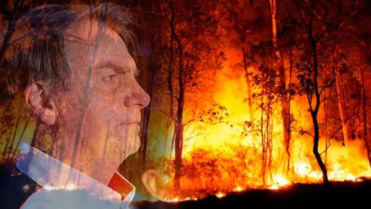 Bolsonaro niega incremento de incendios y deforestación del Amazonas