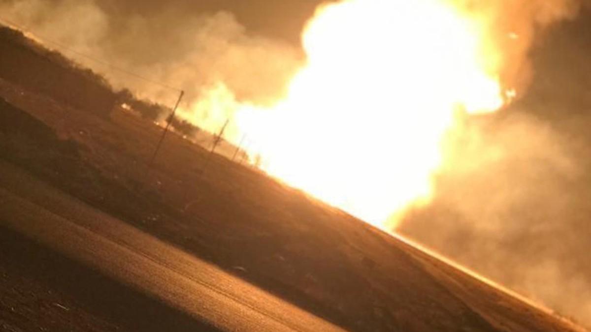 Explosión de gasoducto causa apagón en Siria