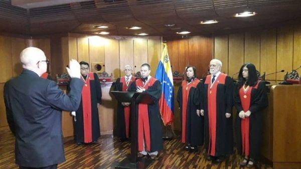 TSJ de Venezuela designó y juramentó a nuevo rector del Consejo Nacional Electoral