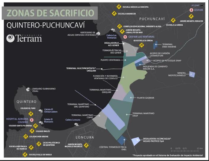 Zonas de sacrificio: A dos años de las intoxicaciones masivas en Quintero y Puchuncaví