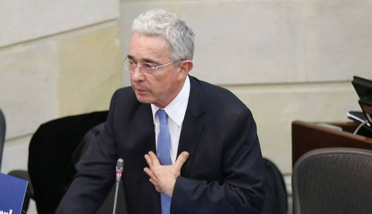 Colombia: niegan recurso con el que buscaban revertir arresto domiciliario de Uribe