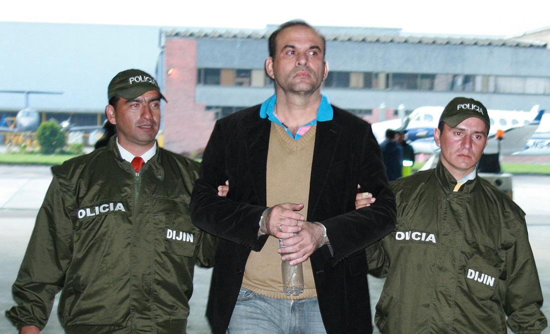 El exjefe paramilitar colombiano Salvatore Mancuso pide extradición a Italia