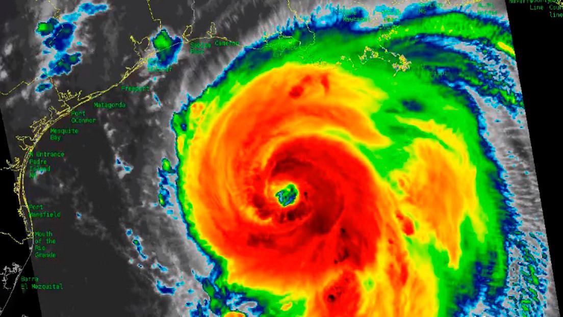 EE. UU.: riesgo de marejadas ciclónicas y vientos extremos por paso de huracán Laura