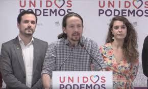 Tres dirigentes del partido  español Podemos son imputados por malversación