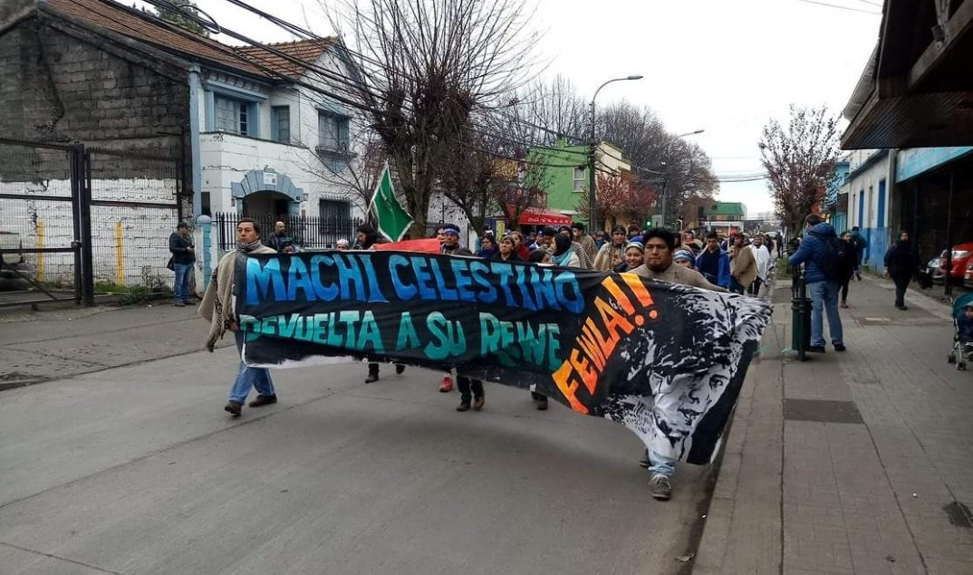 Movilizaciones del machi Celestino podrían continuar de no cumplirse acuerdo con el Gobierno