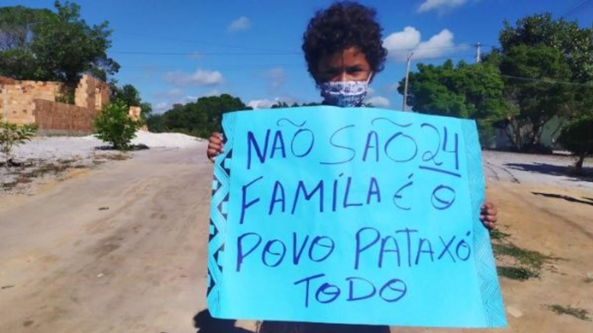 Brasil: Indígenas Pataxó padecen amenaza de desalojo