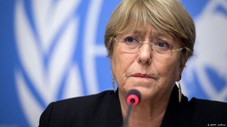 Bachelet denuncia violación de derechos humanos en 4 países latinoamericanos