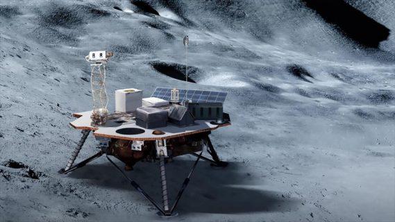 La NASA planea construir un reactor nuclear en la Luna