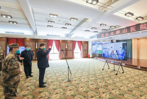 Crónica del liderazgo de China en la guerra contra el COVID-19