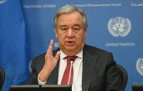 Secretario de la ONU pide a la humanidad protegerse más hasta que aparezca la vacuna contra la pandemia