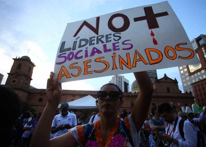Asesinados cuatro nuevos líderes sociales en menos de 24 horas en Colombia