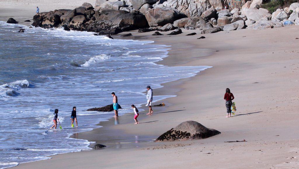 Playa chilena