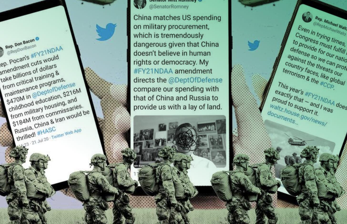 La Histeria Anti-China impulsa el gasto récord en defensa de los Estados Unidos en 2021