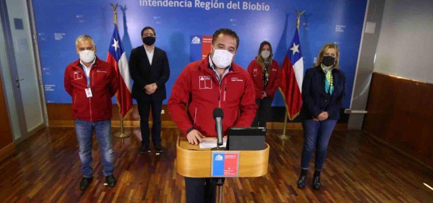 """Intendente del Bío Bío mantiene críticas al Gobierno por plan """"Fondéate en Casa"""""""