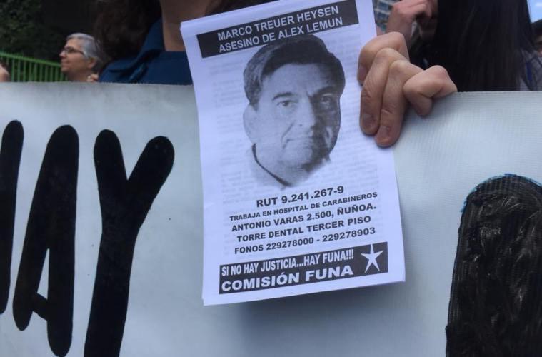 Homicidio de Álex Lemún: Reprograman inicio del juicio oral contra coronel de Carabineros (r) Marco Treuer