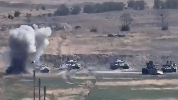 Reportan 84 soldados muertos en Nagorno Karabaj y Armenia se prepara para «una guerra a largo plazo»