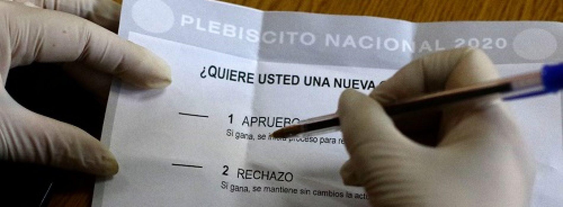 Plebiscito: Este viernes comenzará franja electoral televisada