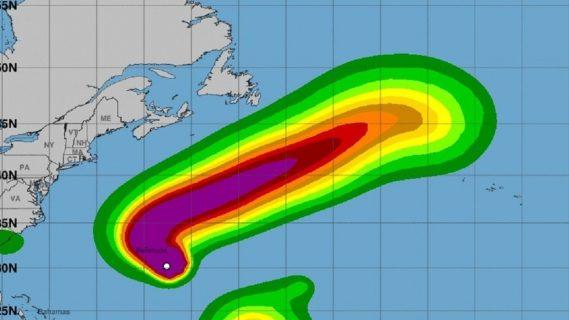 Huracán Paulette activa estado de alerta en las Bermudas