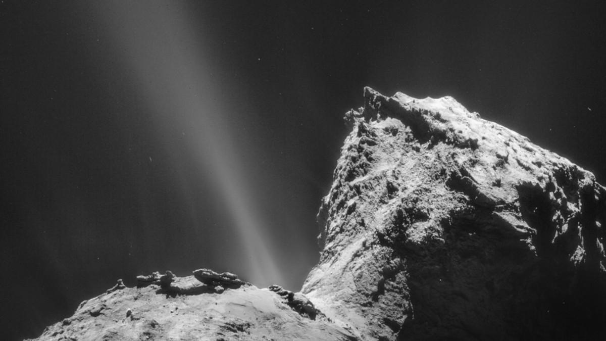 ¡Inédito! Descubren aurora alrededor de un cometa