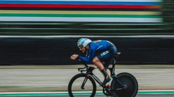 Ciclista italiano se corona como campeón mundial de ciclismo a contrarreloj
