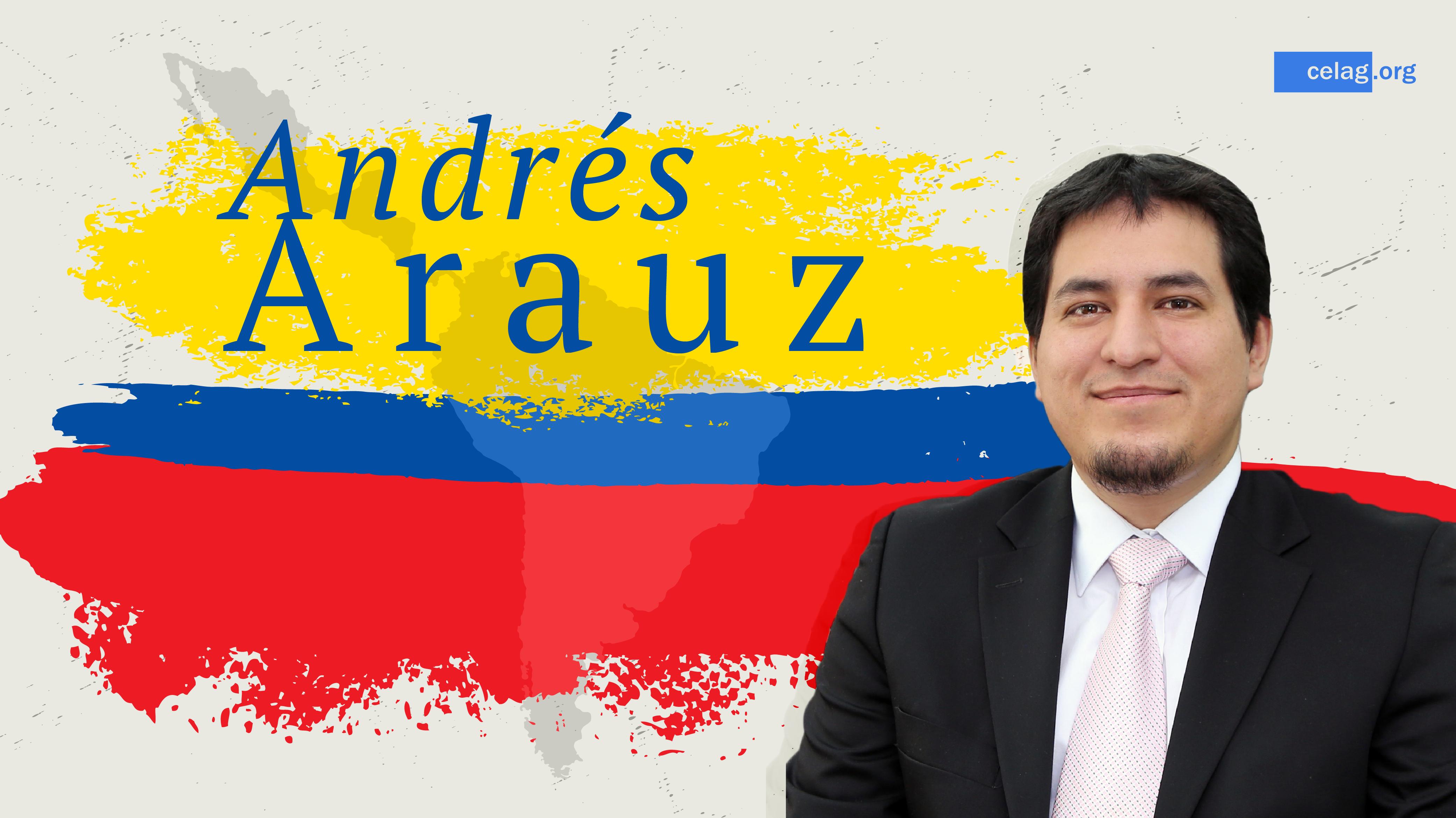 Andrés Arauz se reúne con delegados de la ONU en carácter urgente por amenaza a la democracia en Ecuador