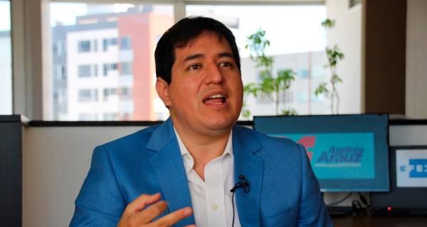 """Andrés Arauz, candidato presidencial de Ecuador: """"Sería el colmo si no nos dejan participar porque lideramos todas las encuestas"""""""