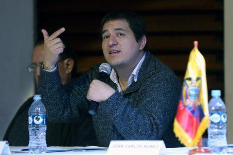 Ecuador: Arauz convoca vigilia en el CNE en defensa de la participación política