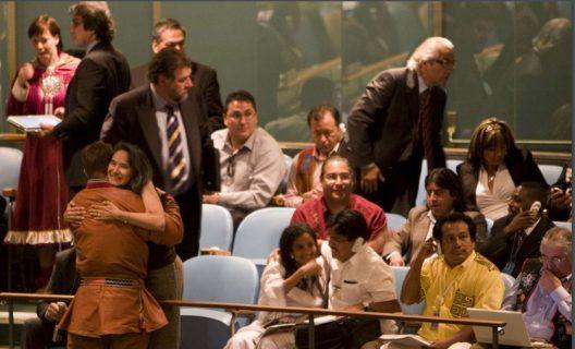 A 13 años de la histórica adopción de la Declaración de Naciones Unidas sobre los Derechos de los Pueblos Indígenas