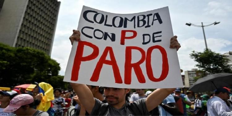 Convocan a paro nacional con movilizaciones contra políticas de Duque en Colombia