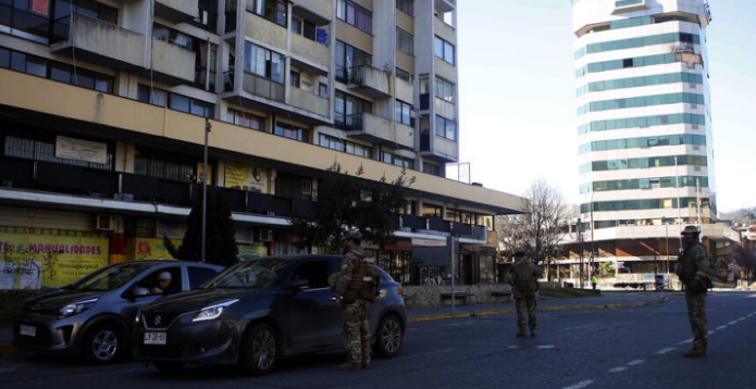 10 comunas de 5 regiones  entrarán el viernes a cuarentena